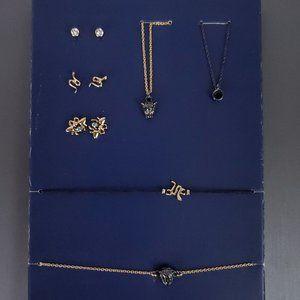 NWT RACHEL ROY 7 Pc Animal / Wildlife Jewelry Set